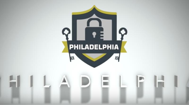 Philadelphia ransomware logo.